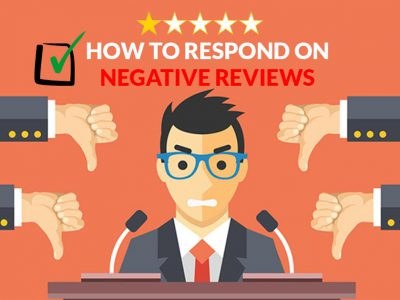 How to respond on negative reviews image
