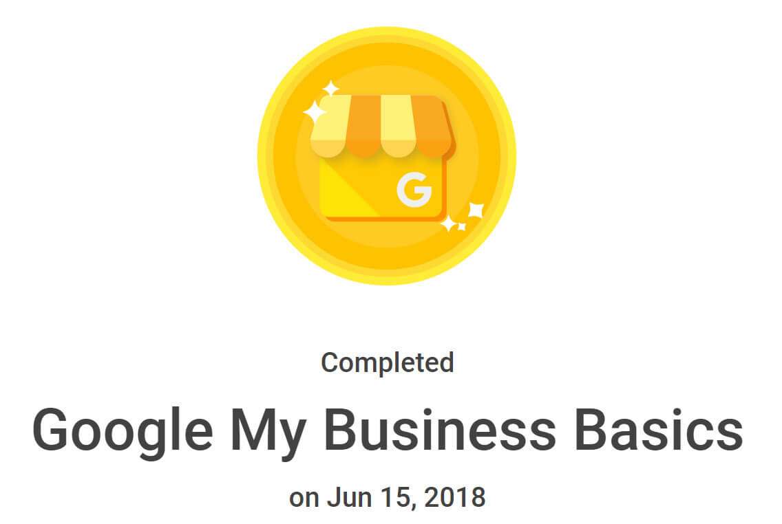 Google My Business Badge