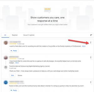 Google Flag Reviews